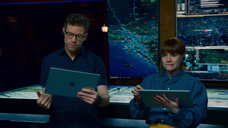 Microsoft Surface Tablet Used by Barrett Foa in NCIS: Los Angeles - Season 10 Episode 22, No More Secrets (2019) - TV Show Product Placement