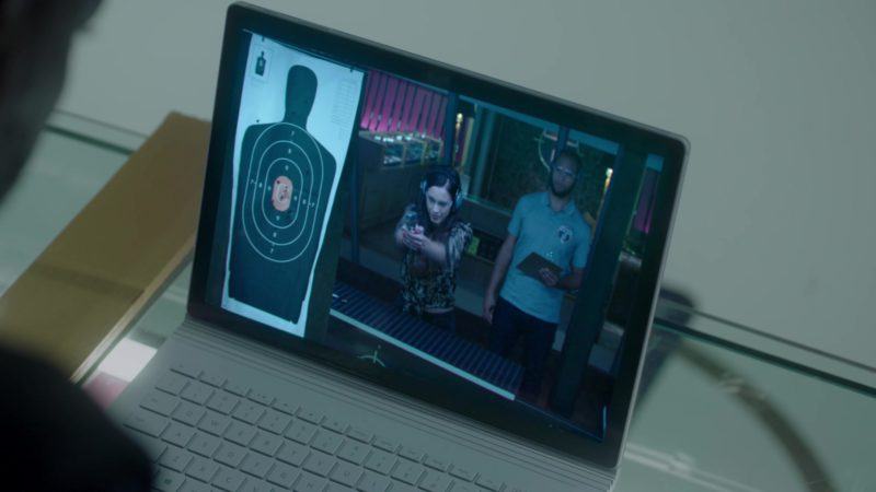 Microsoft Surface Pro Tablet Used by Adewale Akinnuoye-Agbaje in The Fix – Season 1, Episode 9, Jeopardy! (2019) - TV Show Product Placement