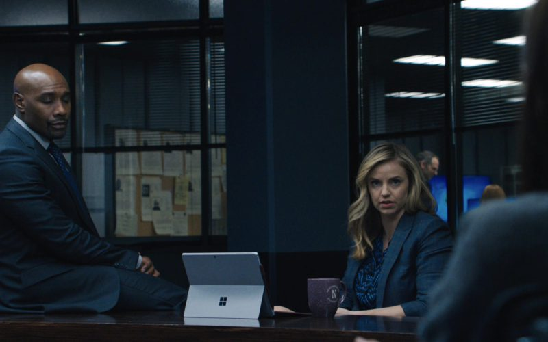 Microsoft Surface Tablet Used by Kelli Garner in The Enemy Within (2)
