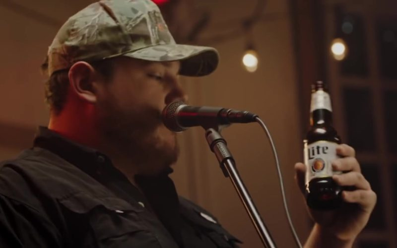 Miller Lite in Beer Never Broke My Heart by Luke Combs (2)