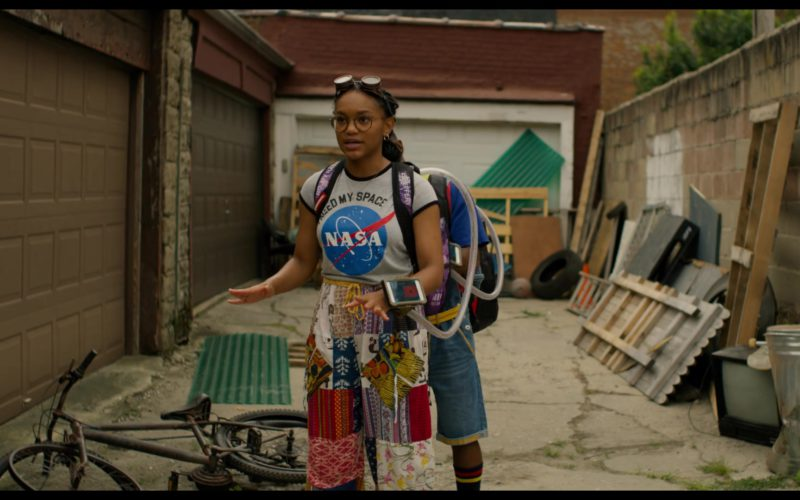 NASA T-Shirt Worn by Eden Duncan-Smith in See You Yesterday (1)