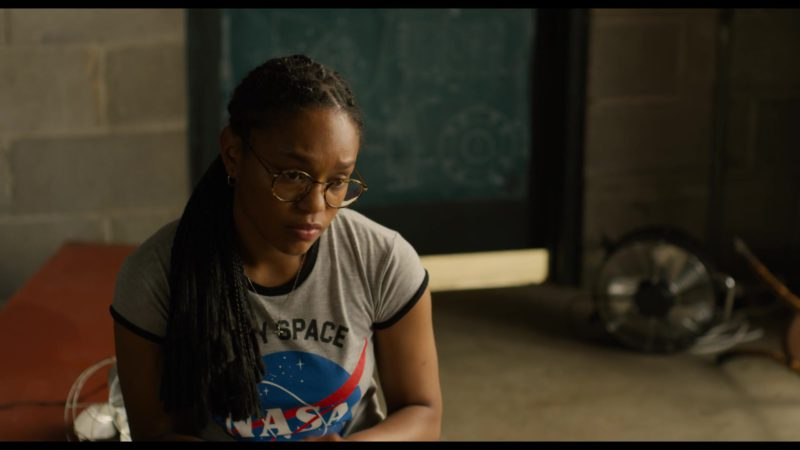 NASA T-Shirt Worn by Eden Duncan-Smith in See You Yesterday (2019) - Movie Product Placement