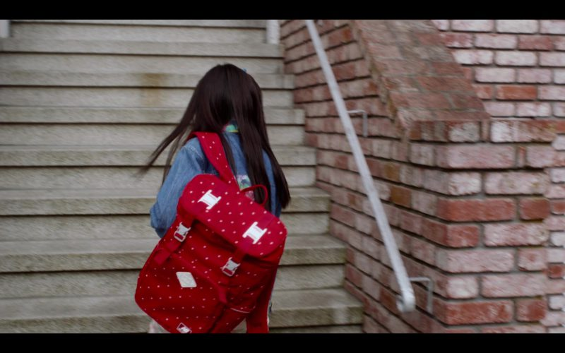 NB Backpack Worn by Miya Cech in Always Be My Maybe (1)
