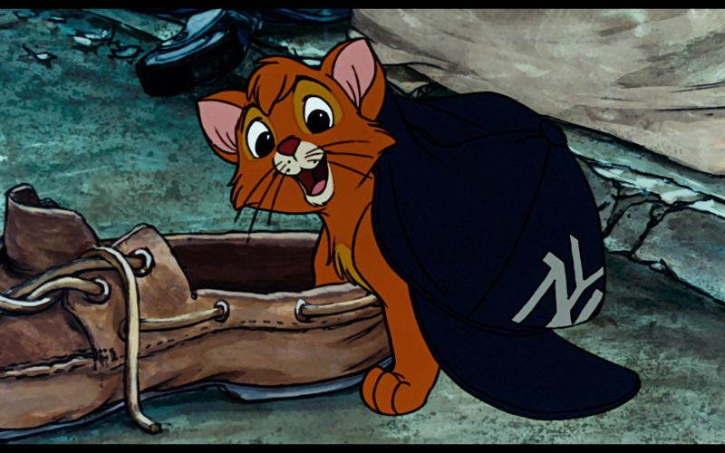 NY Yankees Cap in in Oliver & Company (6)