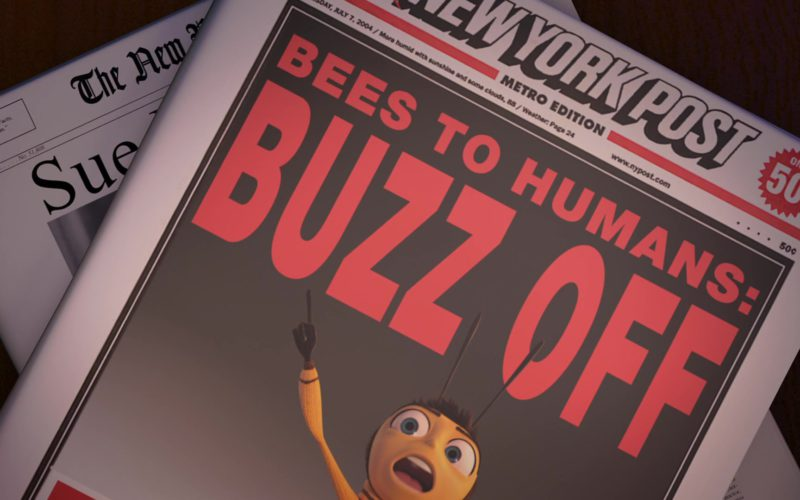 New York Post Newspaper in Bee Movie