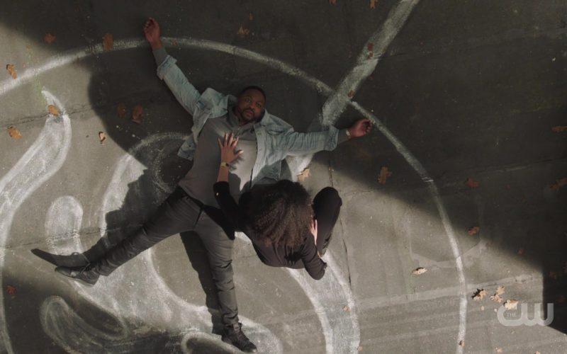 Nike Black Leather Sneakers Worn by Ser'Darius Blain in Charmed