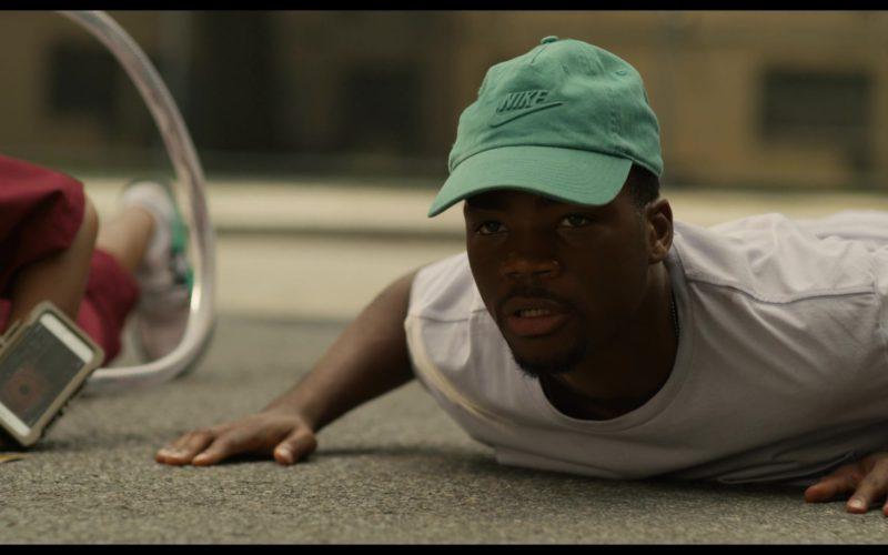 Nike Green Cap Worn by Brian Vaughn Bradley, Jr. (Astro) in See You Yesterday (3)