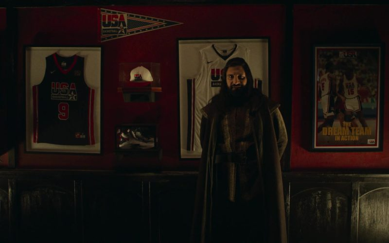Nike Jersey and Sneakers in What We Do in the Shadows