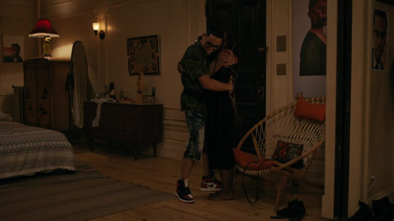 Nike Jordan White & Red Hi Top Sneakers Worn by Anthony Ramos in She's Gotta Have It - Season 2, Episode 3, #LuvStings (2019) TV Show Product Placement