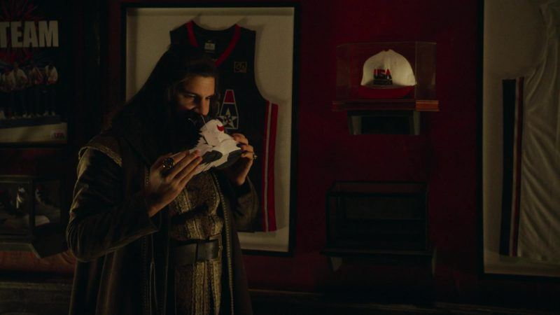 Nike Sneakers Held by Kayvan Novak in What We Do in the Shadows - Season 1, Episode 8, Citizenship (2019) - TV Show Product Placement