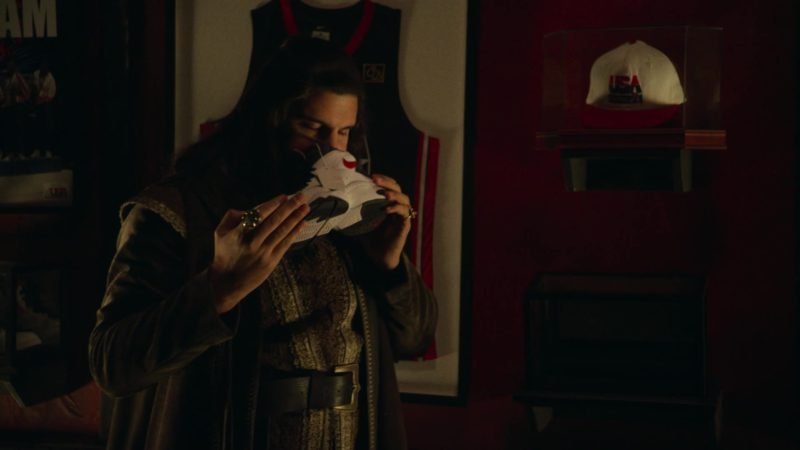 Nike Sneakers Held by Kayvan Novak in What We Do in the Shadows - Season 1, Episode 8, Citizenship (2019) TV Show Product Placement