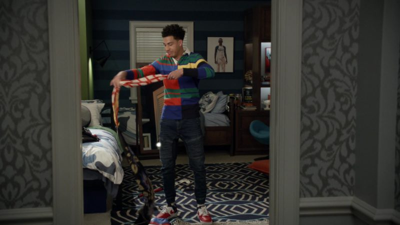Nike Sneakers Worn by Marcus Scribner in Black-ish Season 5, Episode 21, FriDre Night Lights (2019) - TV Show Product Placement
