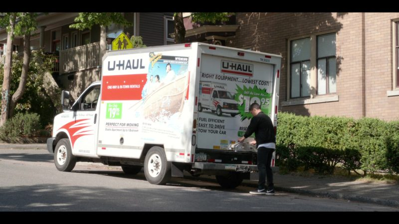 Nike Sneakers Worn by Randall Park and U-Haul Truck in Always Be My Maybe (2019) - Movie Product Placement