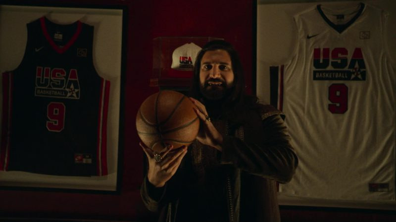 Nike USA Basketball 9 Jerseys in What We Do in the Shadows - Season 1, Episode 8, Citizenship (2019) TV Show Product Placement