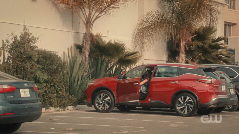 Nissan Murano Luxury Crossover Used by Gina Alexis Rodriguez (Jane Gloriana Villanueva) in Jane the Virgin - Season 5, Episode 10, Chapter Ninety-One (2019) - TV Show Product Placement