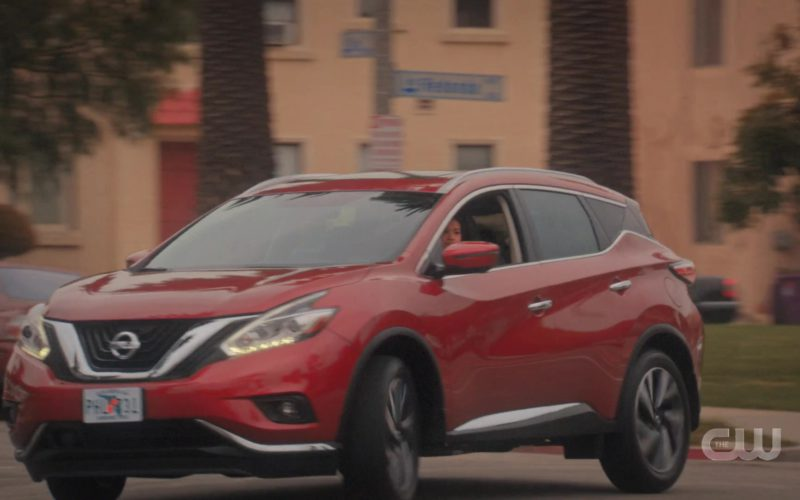Nissan Murano Red Car Used by Gina Rodriguez in Jane the Virgin (6)