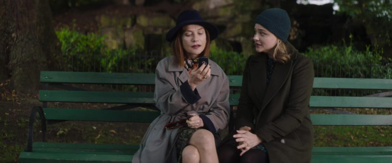 Nokia 3310 Mobile Phone Used by Isabelle Huppert in Greta (2018) Movie Product Placement