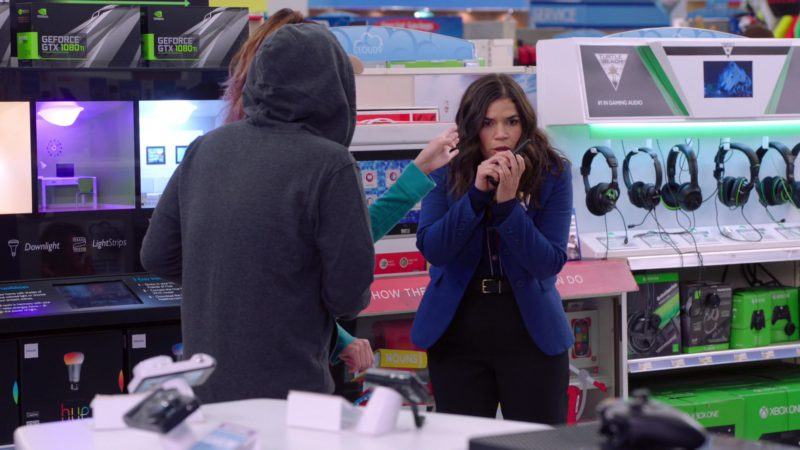 Nvidia GeForce GTX 1080Ti, Turtle Beach Gaming Headsets and Xbox in Superstore - Season 4, Episode 22, Employee Appreciation Day (2019) - TV Show Product Placement