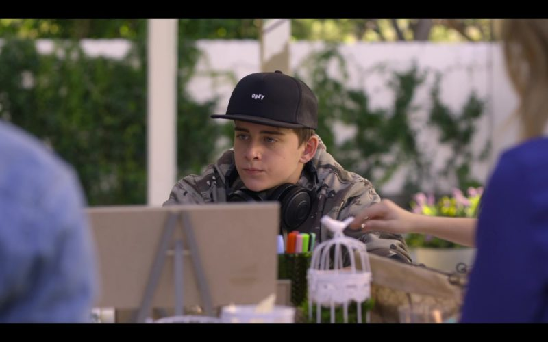 Obey Snapback Worn by Sam McCarthy in Dead to Me (1)