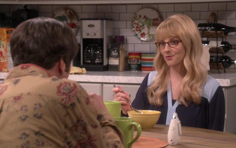 Peet's Coffee in The Big Bang Theory