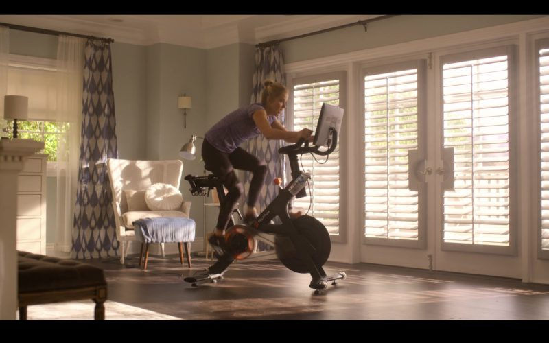 Peloton Indoor Exercise Bike with Online Streaming Classes Used by Christina Applegate in Dead to Me (3)