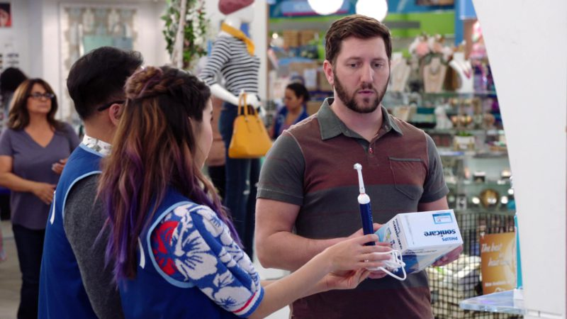 Philips Sonicare Electric Toothbrushes in Superstore - Season 4, Episode 20, Cloud9Fail (2019) - TV Show Product Placement