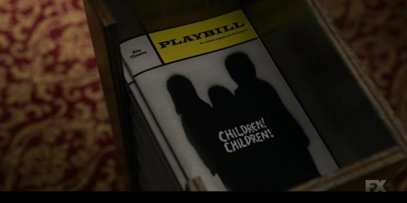 Playbill Magazine in Fosse/Verdon Season 1, Episode 4, Glory (2019) - TV Show Product Placement