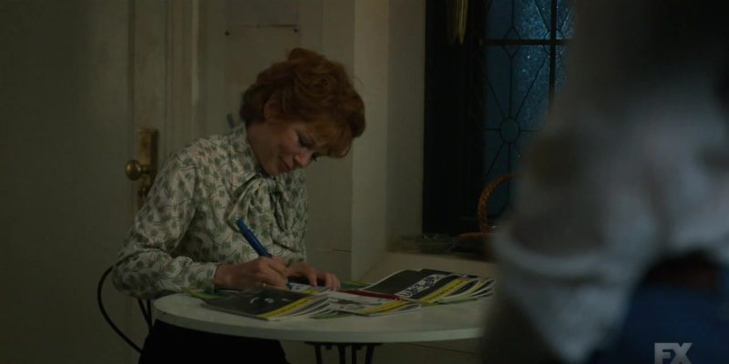 Playbill Magazines in Fosse/Verdon - Season 1, Episode 6, All I Care About Is Love (2019) - TV Show Product Placement