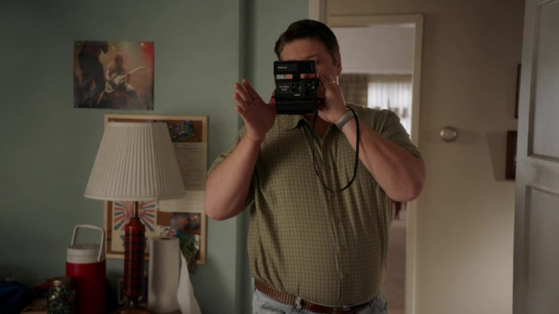 Polaroid Instant Camera in Young Sheldon - Season 2, Episode 20, A Proposal and a Popsicle Stick Cross (2019) - TV Show Product Placement
