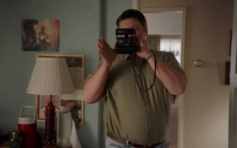 Polaroid Instant Camera in Young Sheldon