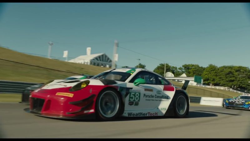 Porsche Consulting, WeatherTech in The Art of Racing in the Rain (2019) Movie Product Placement