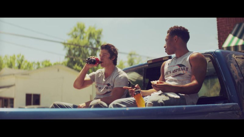 Powerade Sports Drink Held by Jacob Latimore in The Last Summer (2019) - Movie Product Placement