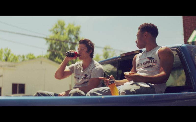 Powerade Sports Drink Held by Jacob Latimore in The Last Summer