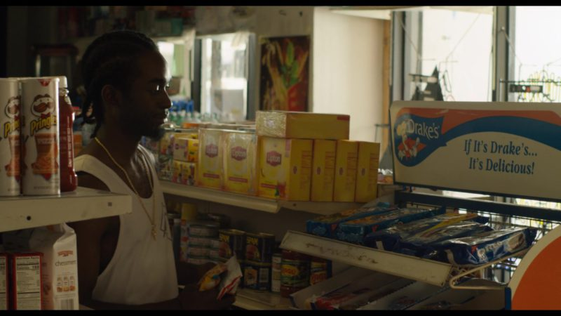 Pringles Chips, Lipton Tea, Drake's, Oreo in See You Yesterday (2019) - Movie Product Placement