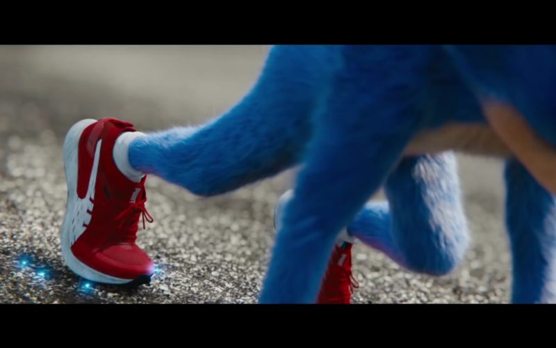 Puma Sneakers (Red) Worn by Sonic in Sonic the Hedgehog (2)