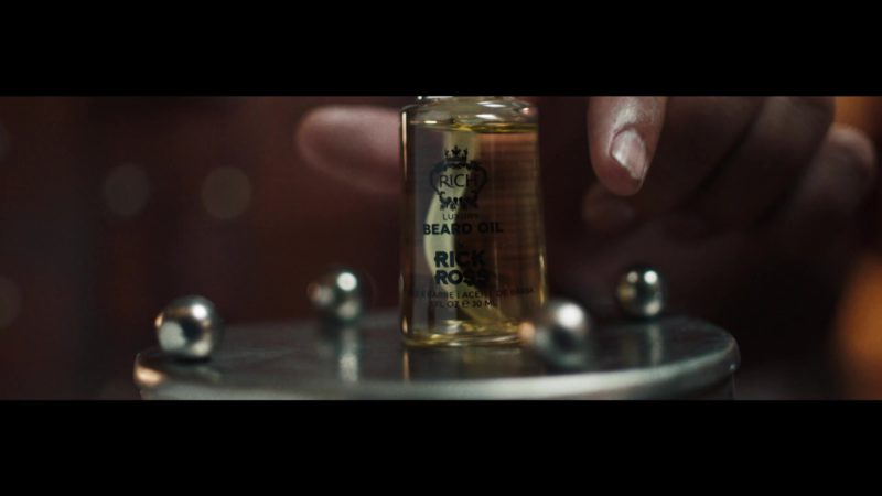 """RICH by Rick Ross Luxury Beard Oil in """"Just Us"""" by DJ Khaled ft. SZA (2019) Official Music Video Product Placement"""
