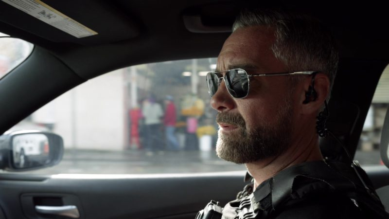 Randolph Sunglasses Worn by Jay Harrington in S.W.A.T. - Season 2, Episode 22, Trigger Creep (2019) TV Show Product Placement