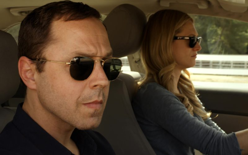 Ray-Ban Aviator Men's Sunglasses Worn by Giovanni Ribisi in Sneaky Pete (6)