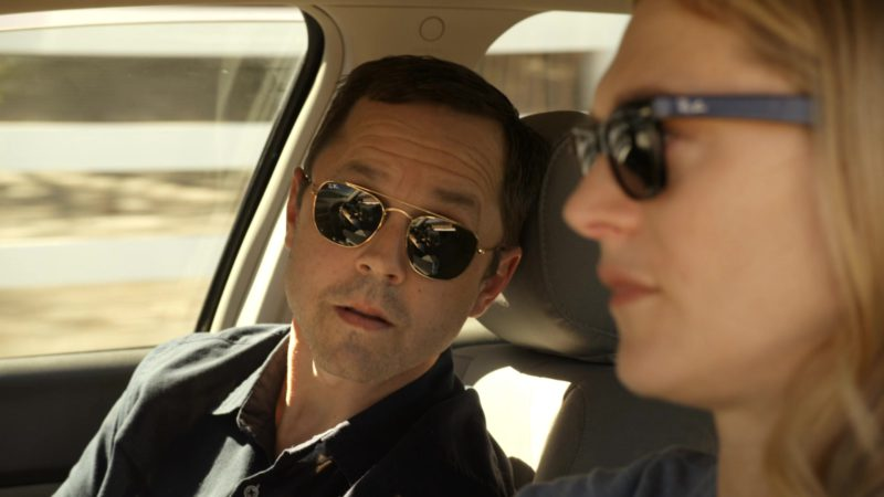 Ray-Ban Men's Sunglasses Worn by Giovanni Ribisi in Sneaky Pete - Season 3, Episode 6 (2019) - TV Show Product Placement