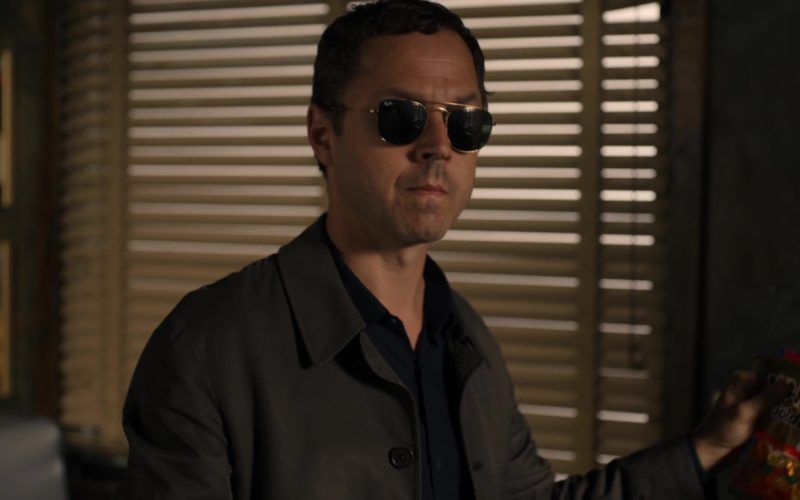 Ray-Ban Aviator Sunglasses Worn by Giovanni Ribisi and Haribo Candies in Sneaky Pete