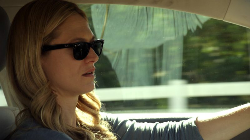 Ray-Ban Wayfarer Sunglasses Worn by Marin Ireland in Sneaky Pete - Season 3, Episode 6 (2019) - TV Show Product Placement