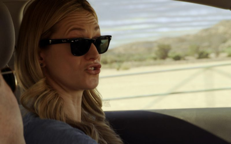 Ray-Ban Wayfarer Sunglasses Worn by Marin Ireland in Sneaky Pete (5)