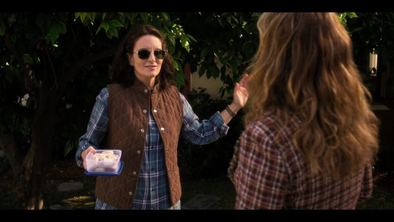 Ray-Ban RB3136 Caravan Sunglasses Worn by Tina Fey in Wine Country (2019) - Movie Product Placement