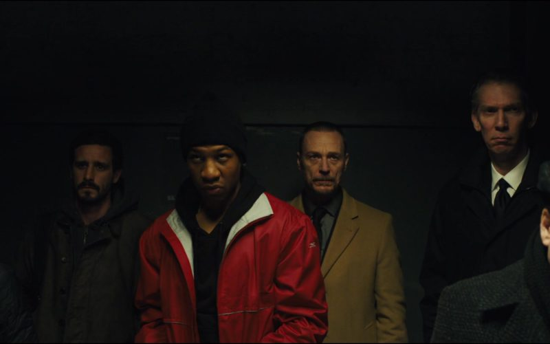 Reebok Jacket (Red) Worn by Jonathan Majors in Captive State