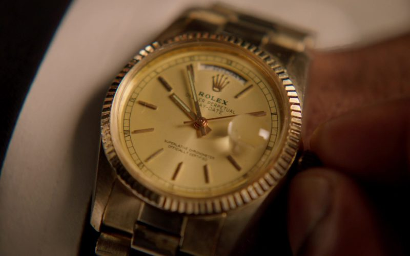 Rolex Oyster Perpetual Day-Date Gold Men's Wrist Watch in MacGyver