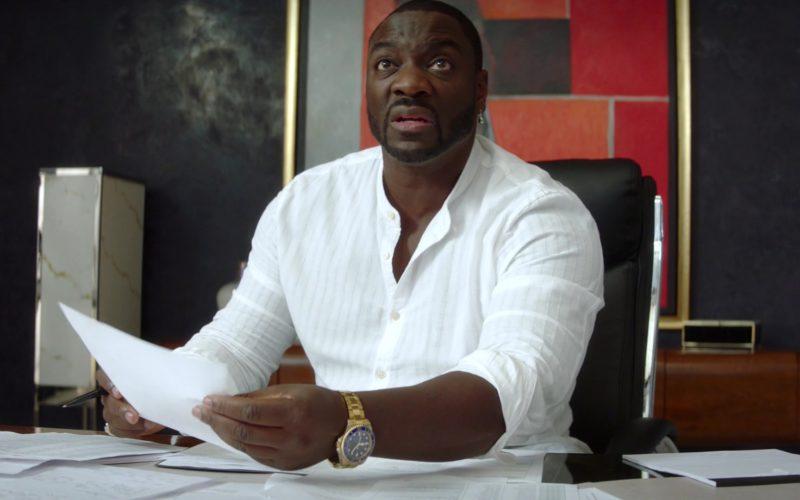 Rolex Watch Worn by Adewale Akinnuoye-Agbaje in The Fix (1)