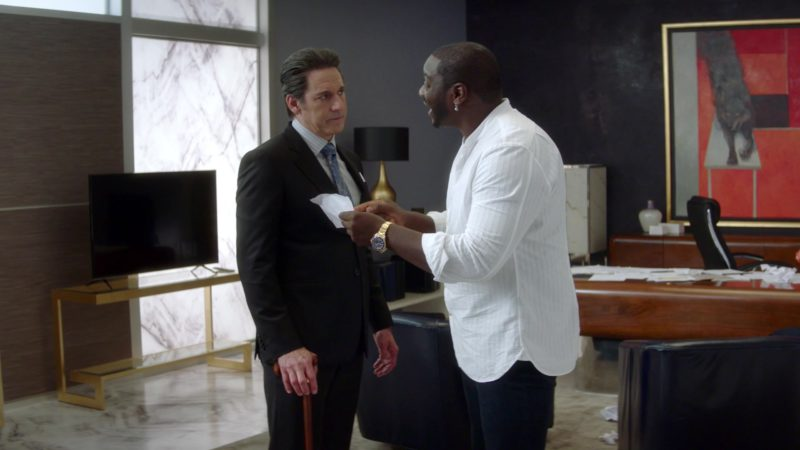 Rolex Watch Worn by Adewale Akinnuoye-Agbaje in The Fix – Season 1, Episode 9, Jeopardy! (2019) - TV Show Product Placement