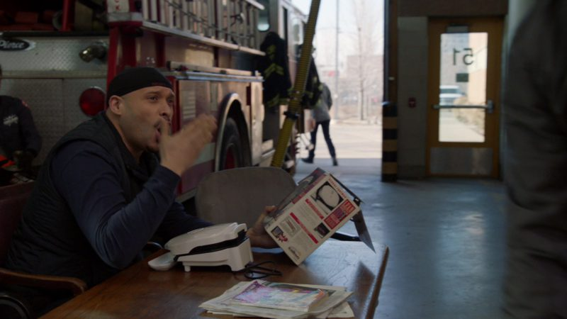 SALTON Sandwich Maker Held by Joe Minoso in Chicago Fire - Season 7, Episode 20, Try Like Hell (2019) - TV Show Product Placement