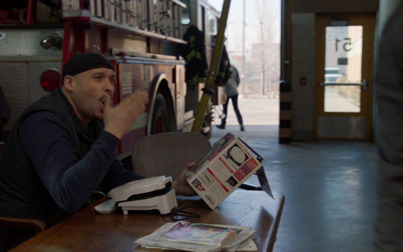 SALTON Sandwich Maker Held by Joe Minoso in Chicago Fire (2)