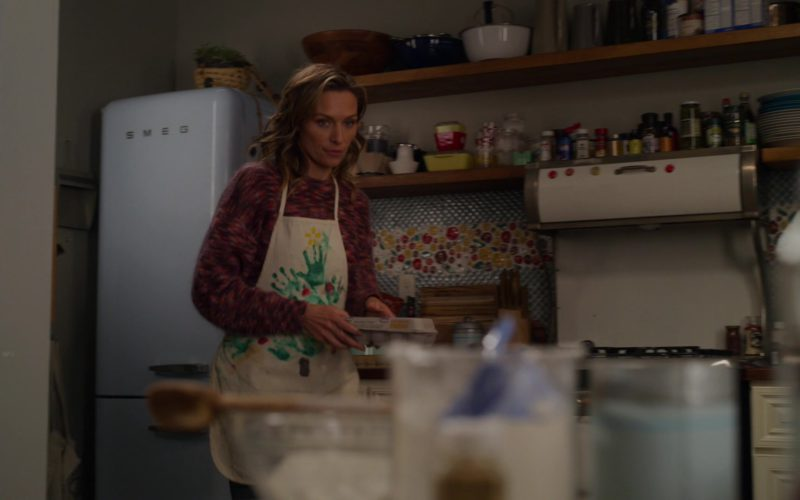 SMEG Blue Refrigerator Used by Michaela McManus in The Village